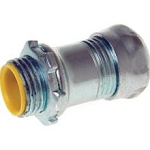 EMT Conduit Compression Insualted Throat Connector - 1/2