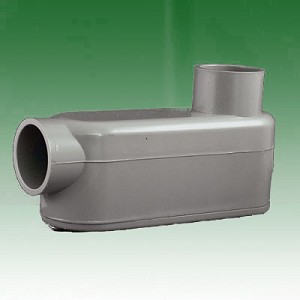 PVC Access Fitting, Type LB, 1.50 in.