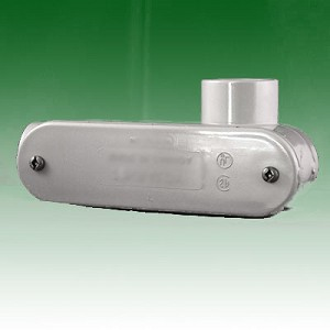 PVC Access Fitting, type LR, 3.50 in