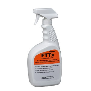 Qt Spray Bottle Polywater® Lubricant FTTX