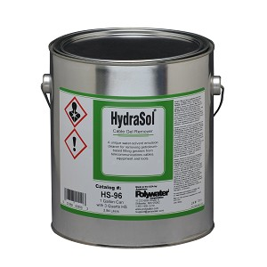 3/4-Gal HydraSol® Cable Gel Remover (1-gal pail)